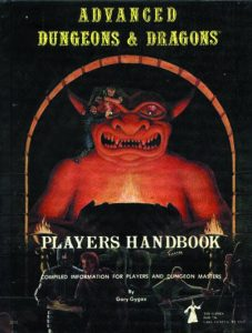 Advanced Dungeons and Dragons Players Handbook