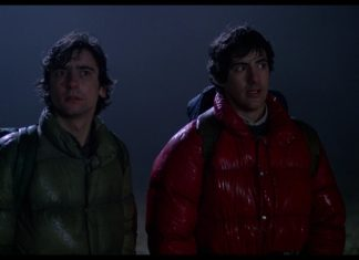 David Naughton and Griffin Dunne in American Werewolf in London
