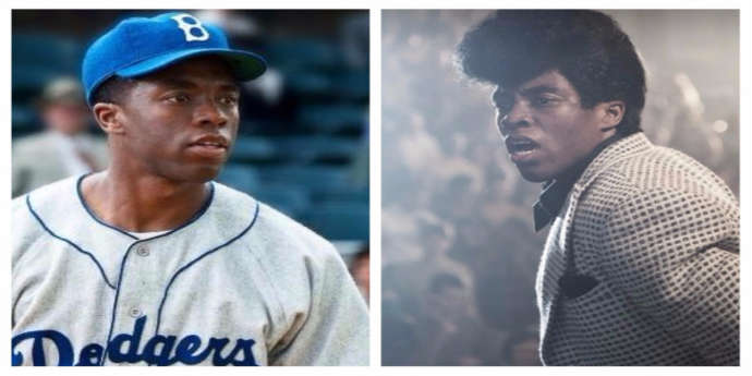 Photos of Chadwick Boseman from 42 and Get On Up