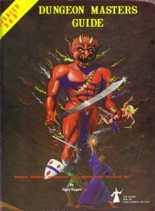 Advanced Dungeons and Dragons Masters Guide