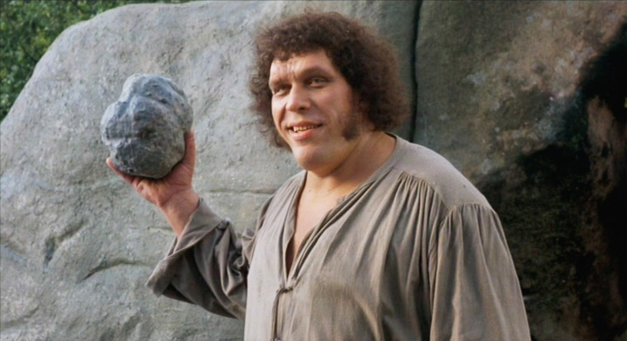 Andre The Giant as Fezzik