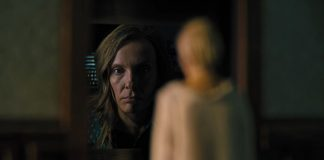 Toni Collette stares into the abyss