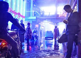 Promo picture for MUTE from Duncan Jones