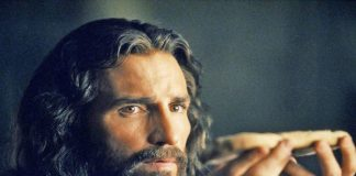 Jim as Jesus in Passion of the Christ