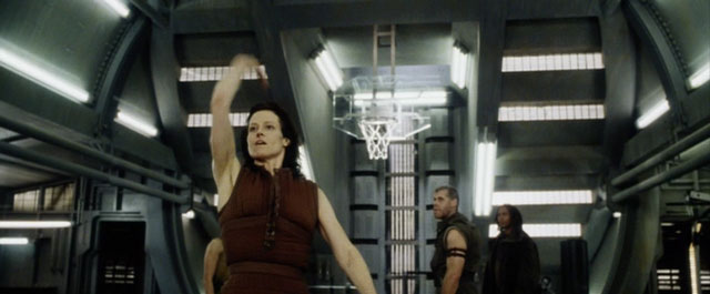 Basketball Shot Alien Resurrection