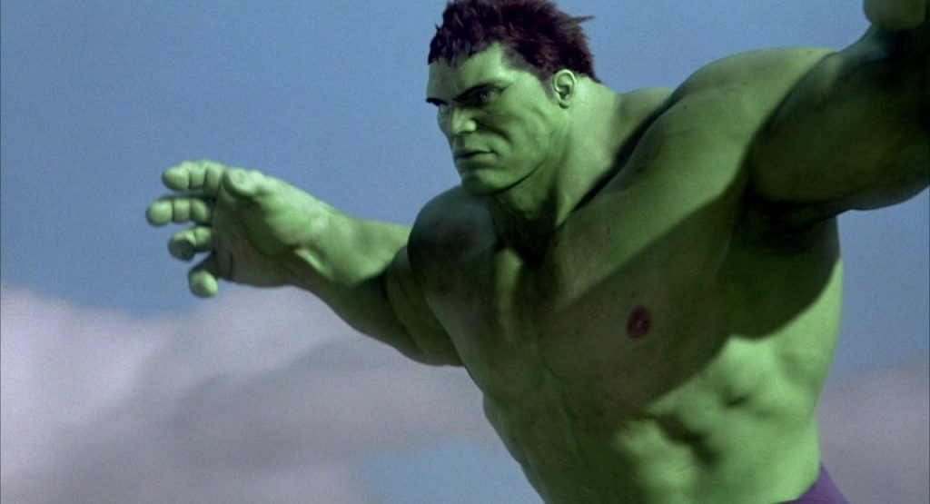 The Hulk Jumping in Ang Lee's Hulk
