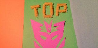 E-Bob's Noodle Art of Megatron Top Ten