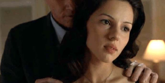 Nina Krilova and Stan Beeman on FX's The Americans