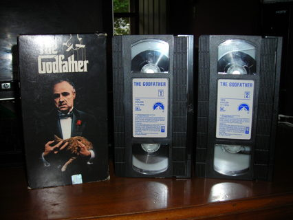 The Godfather on VHS tape