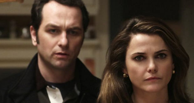 Phillip and Elizabeth Jennings and portrayed by Keri Russell and Matthew Rhys