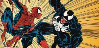 Spider-Man and Venom in Maximum Carnage