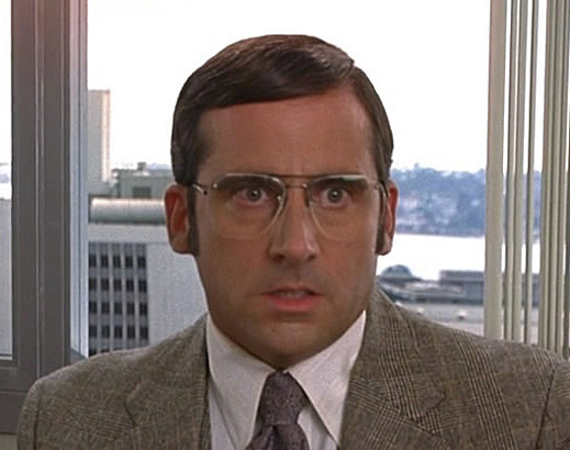 Steve Carrell reacts to the horror