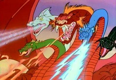 Tiamat D&D 5 Headed Dragon