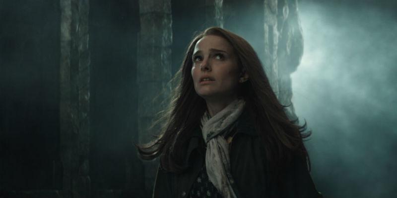 Natalie Portman looks scared in ANNIHILATION