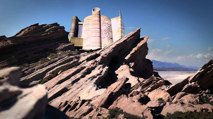 POWER RANGERS Castle At Vasquez Rocks