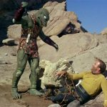 Kirk Is Bested BY The Gorn in STAR TREK TOS