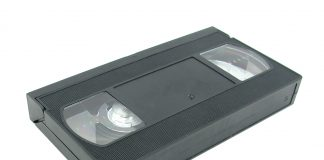 Picture of a VHS cassette tape