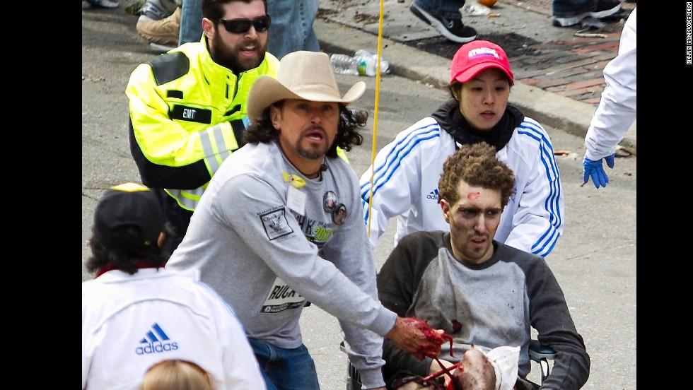 Boston bombing, April 13, 2013