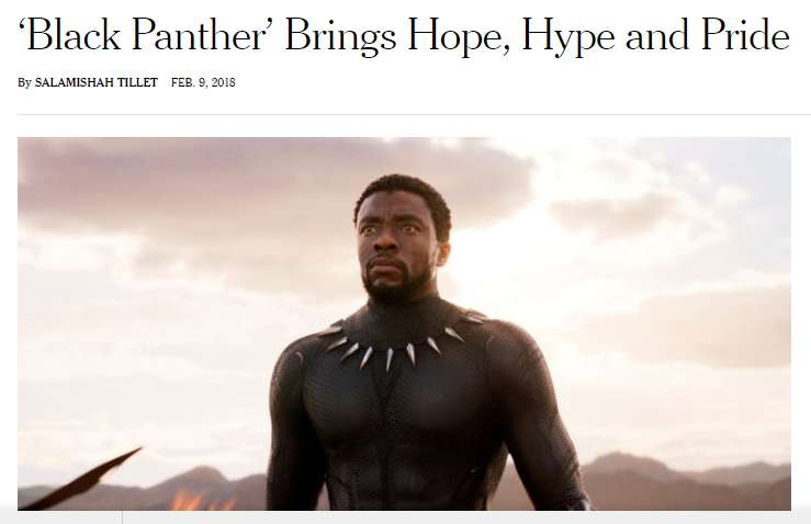 BLACK PANTHER New York Times Review