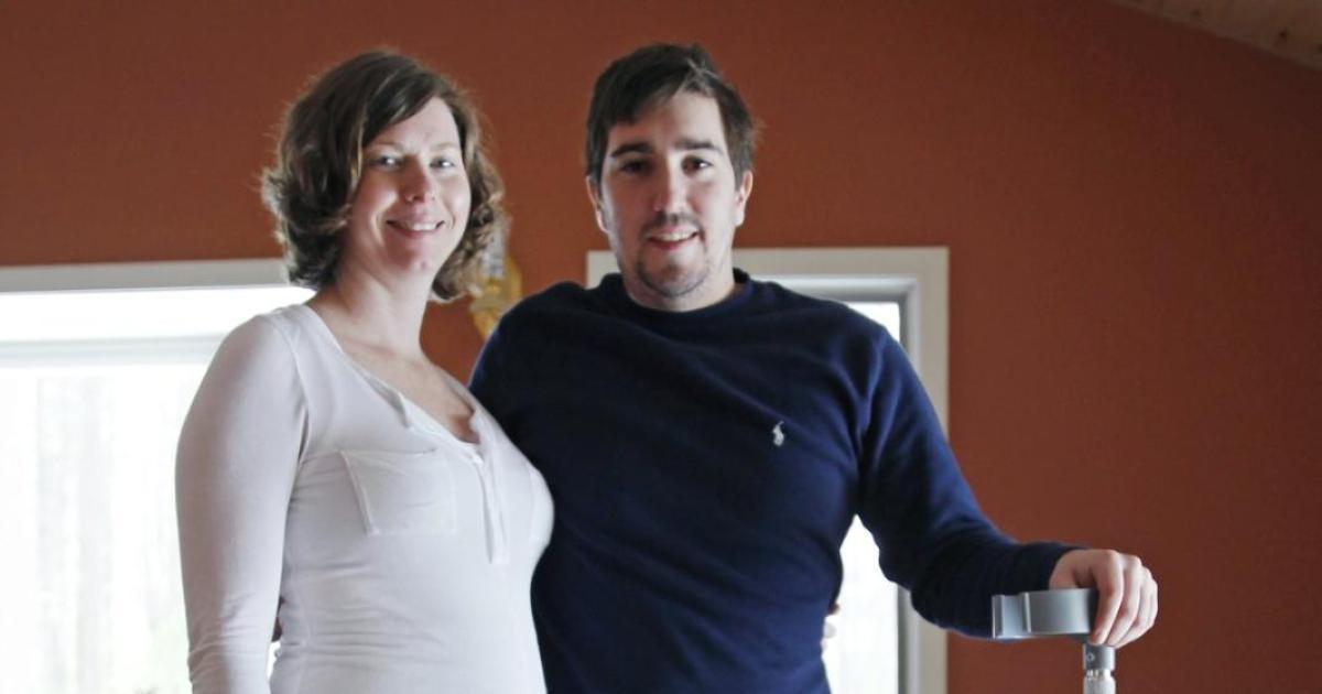 Jeff Bauman and Erin Hurley