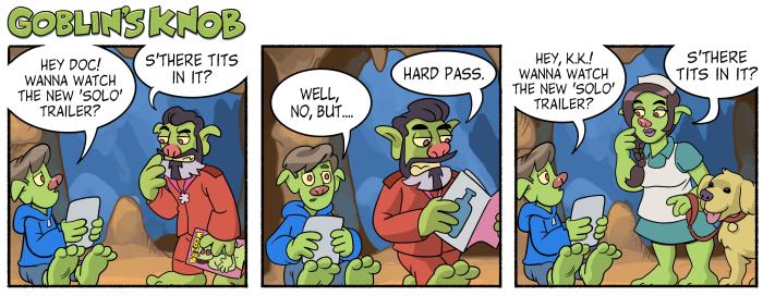 Goblin's Knob Comic