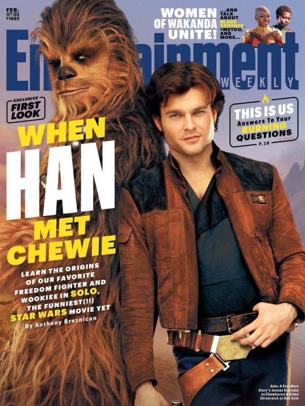 Hon Solo and Chewbacca