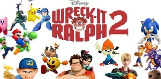 Wreck It Ralph 2 Poster with Video Game Characters