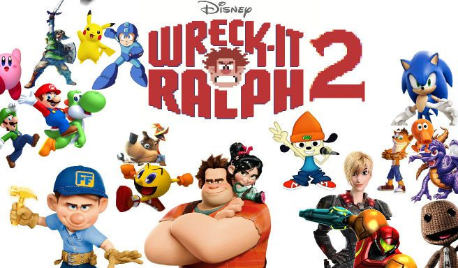 Take Cover Wreck It Ralph Breaks The Internet Film Goblin