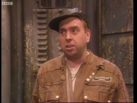Timothy Spall in red Dwarf