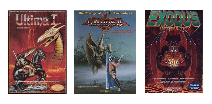Ultima 1-3 Covers