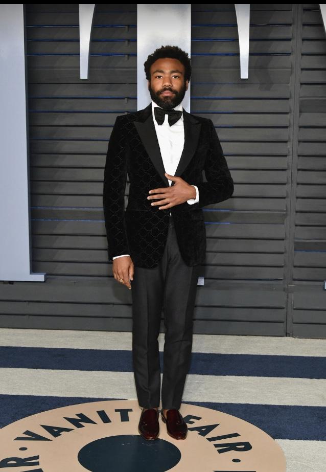 Donald Glover oscar fashion