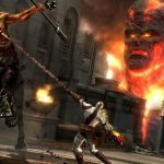Gameplay from God of War 3