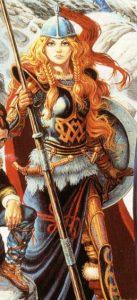 Laurana, The Elvish Warrior-Maiden From DRAGONLANCE