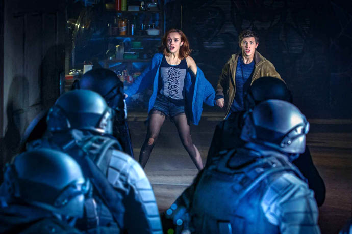Samantha and Wade Watts in Ready Player One
