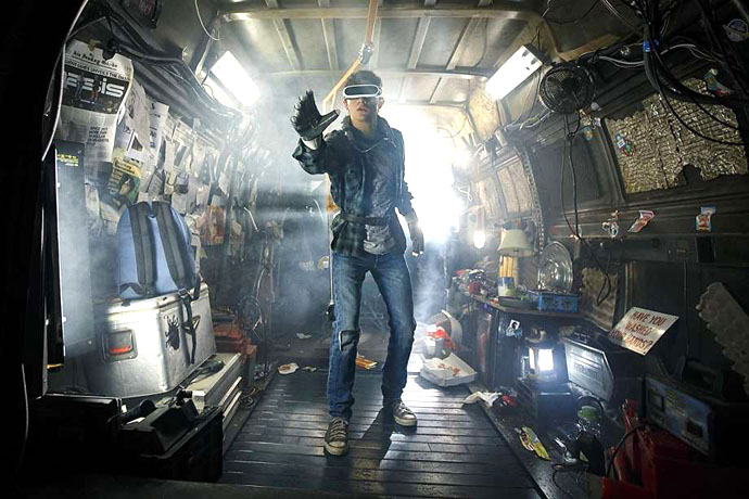 Tye Sheridan as Wade Watts (Parzival) in Ready Player One