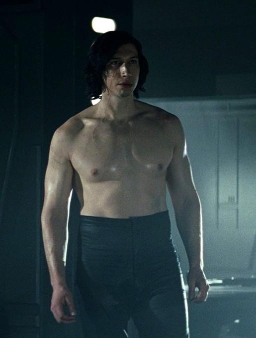 Topless Kylo Ren