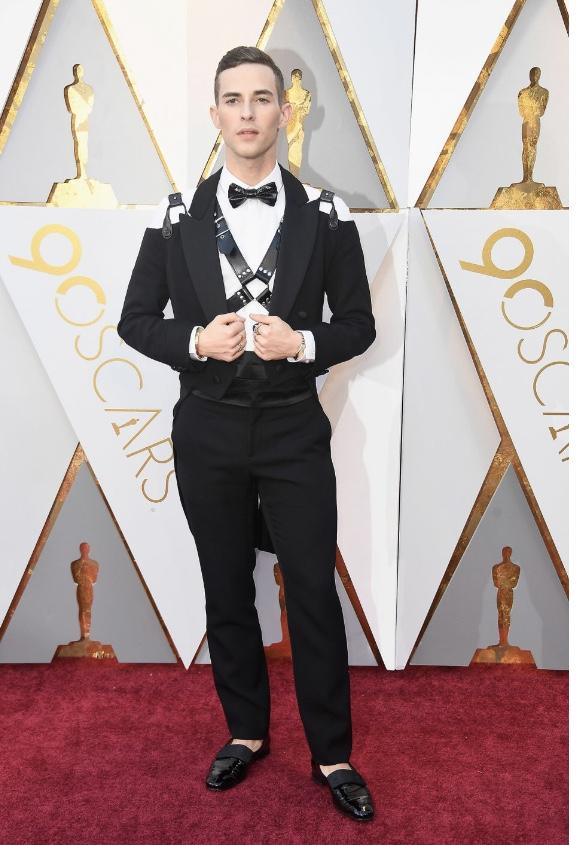 Adam Rippon oscar fashion