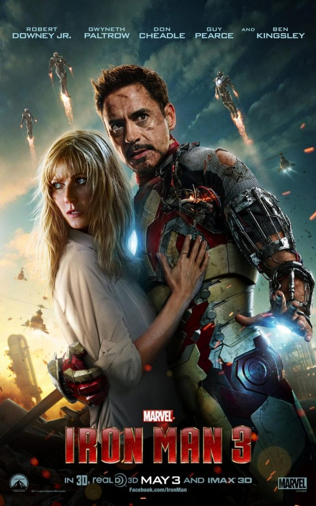 Marvel Iron Man 3 Avengers