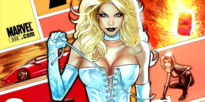 Hyper-Sexualization: Emma Frost Fights X-Men With Sexiness