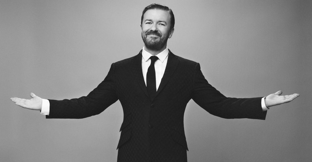 Ricky Gervais Will Be Made Illegal Soon or Humor Will