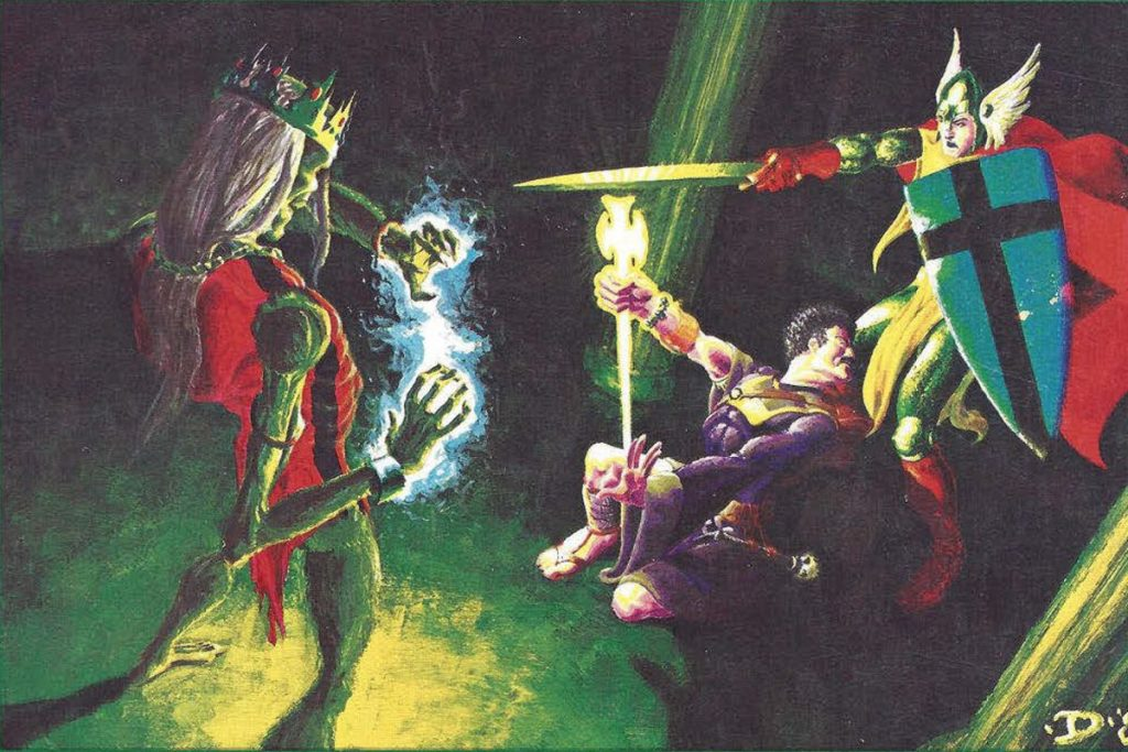 Cover art from the 1981 version of S1 Tomb of Horrors
