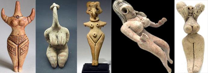 Ancient Fertility Idols are Like Comic Book Super Women