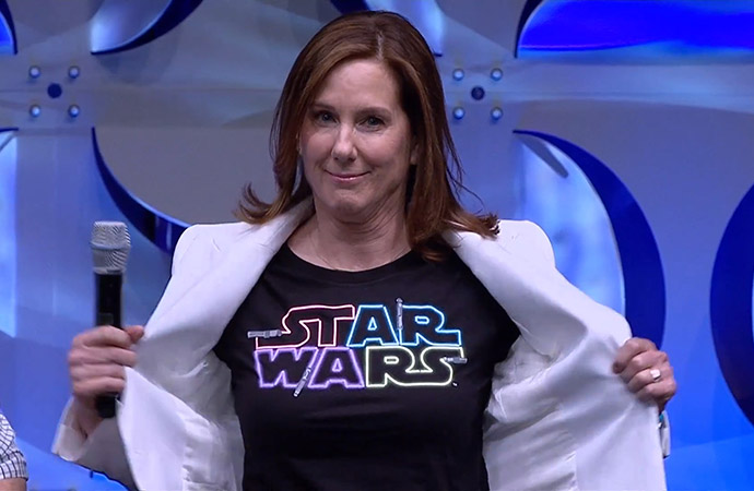 Star Wars Cartoon Kathleen Kennedy