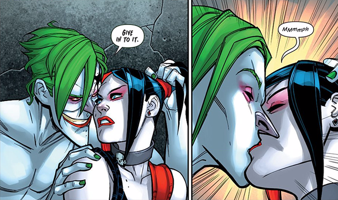 Give In To It Joker Harley Quinn
