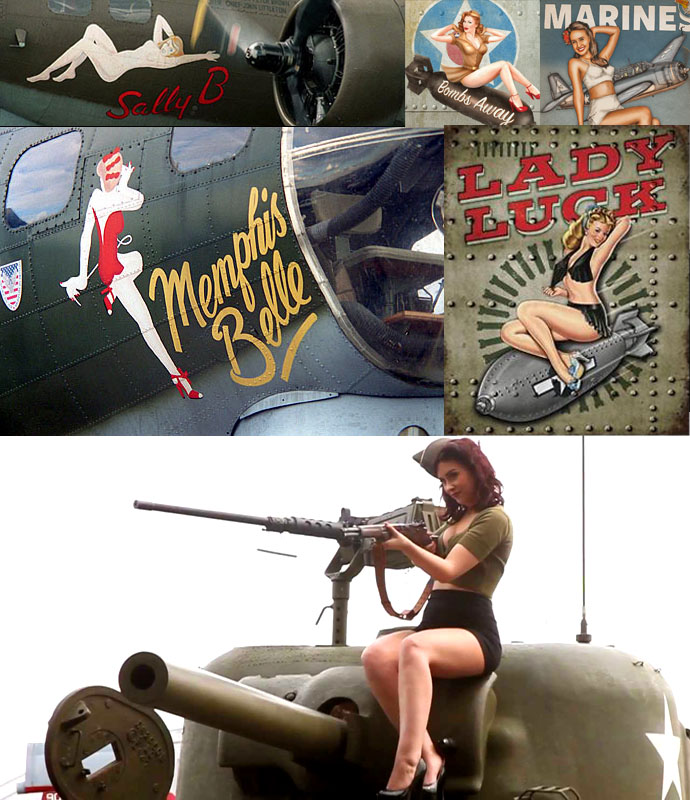 Lovely Ladies of War
