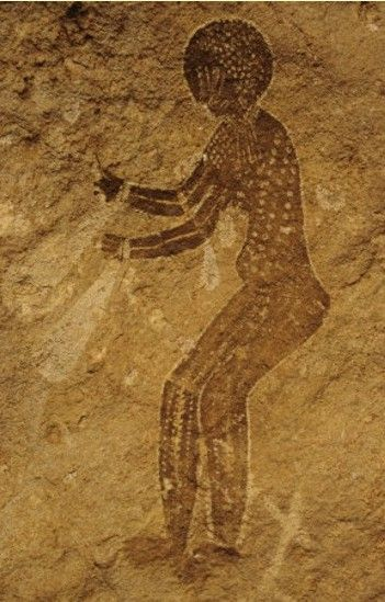 Cave Painting of Sexy Lady