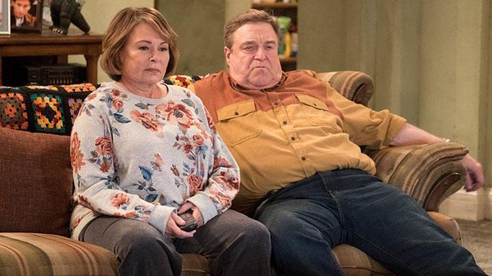 Roseanne Barr and John Goodman on the Roseanne Revival