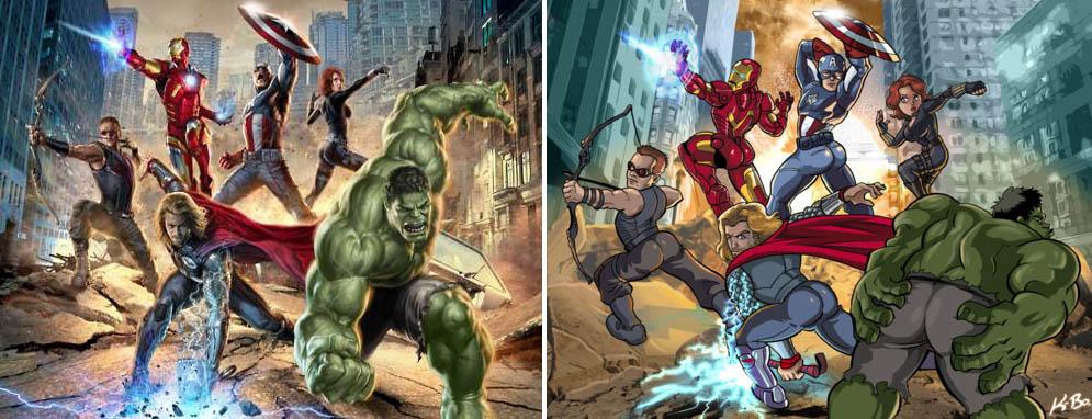 Male Avenger Sexism from Marvel
