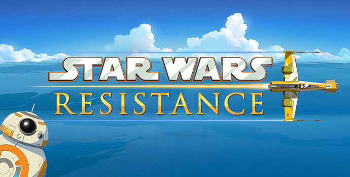 Star Wars Resistance cartoon Disney