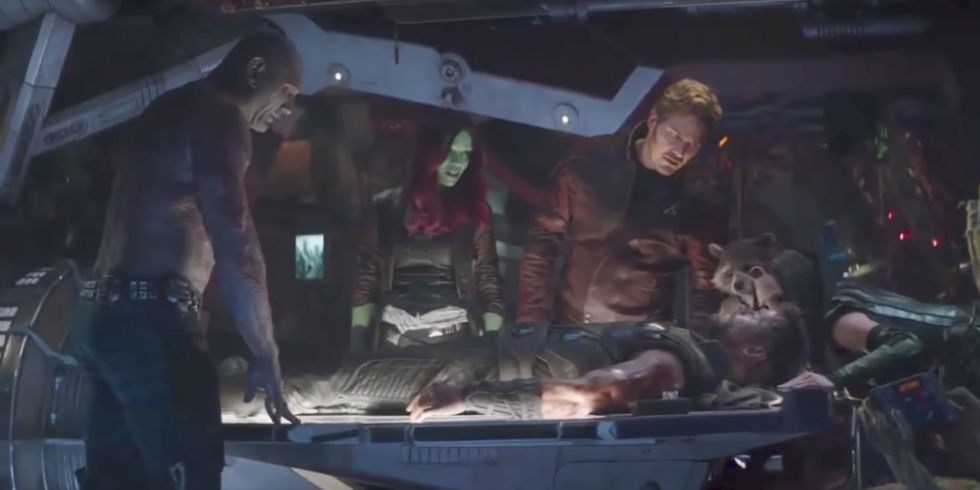 Thor and the Guardians of the Galaxy